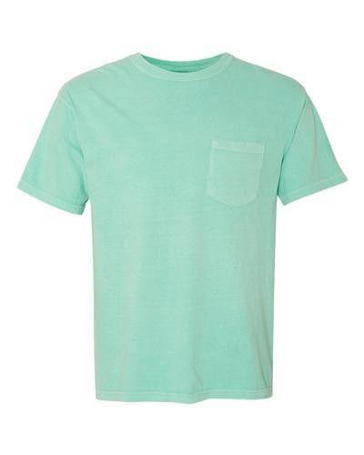Comfort Colors Pocket Tee | Pocket Tees | Custom Product & Apparel ...