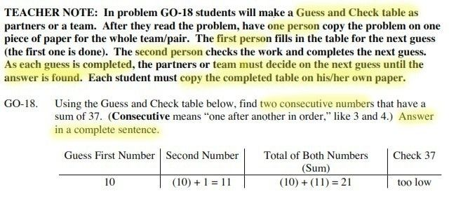 "Fairfield Math Advocates – CPM ""Guess and Check"" with ""Group Think ..."