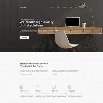Professional Website Design for Online Promotion | MotoCMS