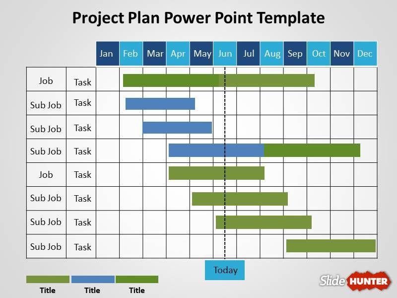 work plan presentation template project plan powerpoint template ...