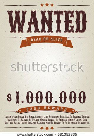 Wanted Stock Images, Royalty-Free Images & Vectors | Shutterstock