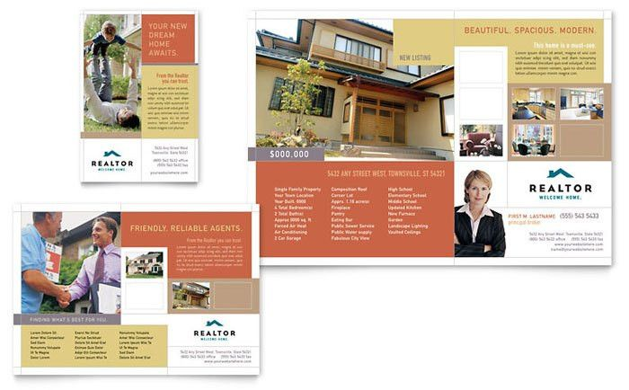 Realtor & Real Estate Agency Flyer & Ad Template Design