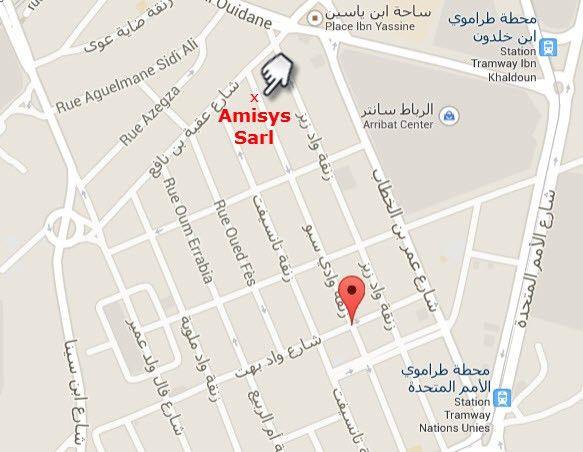 Amisys Sarl informatique Maroc