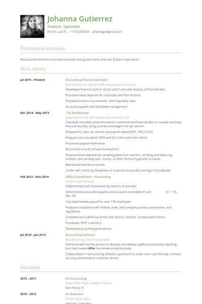 Office Coordinator Resume samples - VisualCV resume samples database