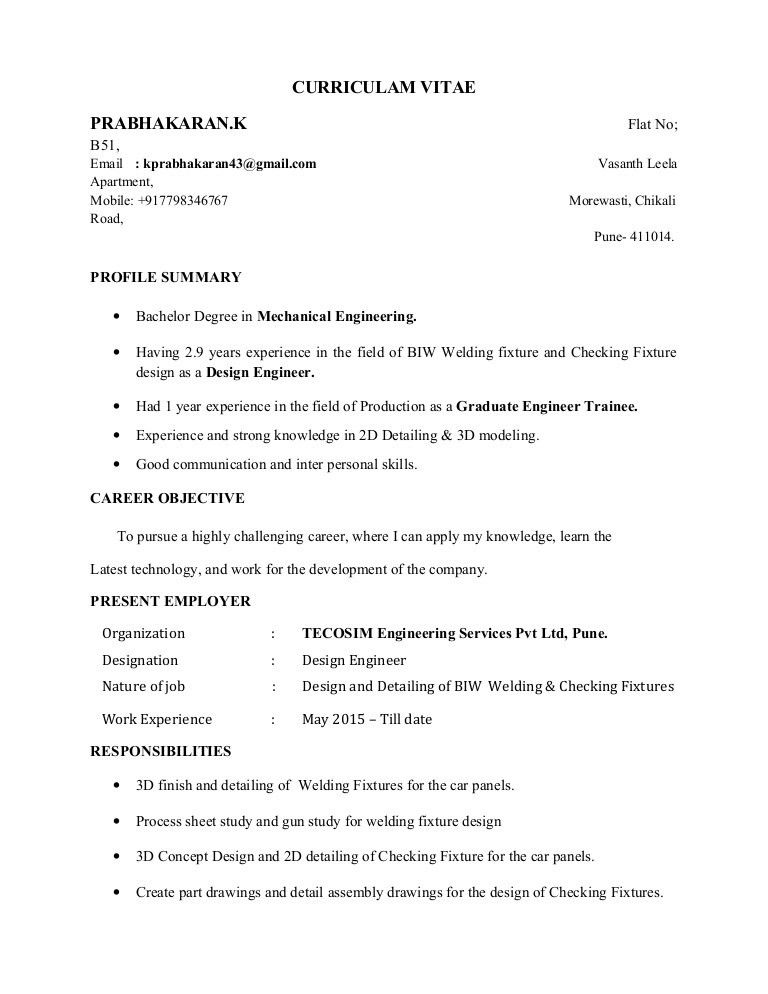 Design Engineer with 2.9 yrs exp in BIW welding fixture design and de…