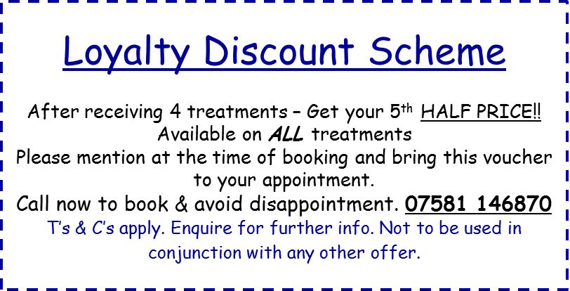 Solihull Natural Health and Beauty Clinic - Special offers & Vouchers