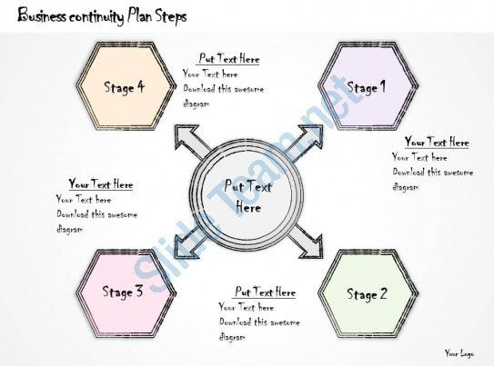 2502 Business Ppt Diagram Business Continuity Plan Steps ...