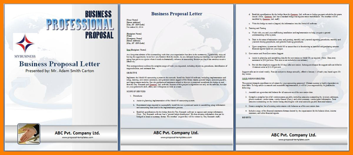 9+ business proposal template word | delivery challan