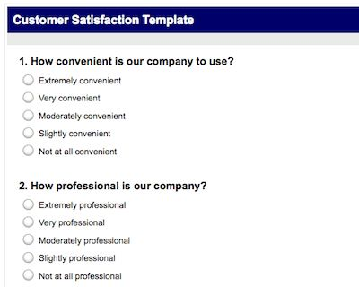 How to Create a Professional Customer Satisfaction Survey in 10 ...