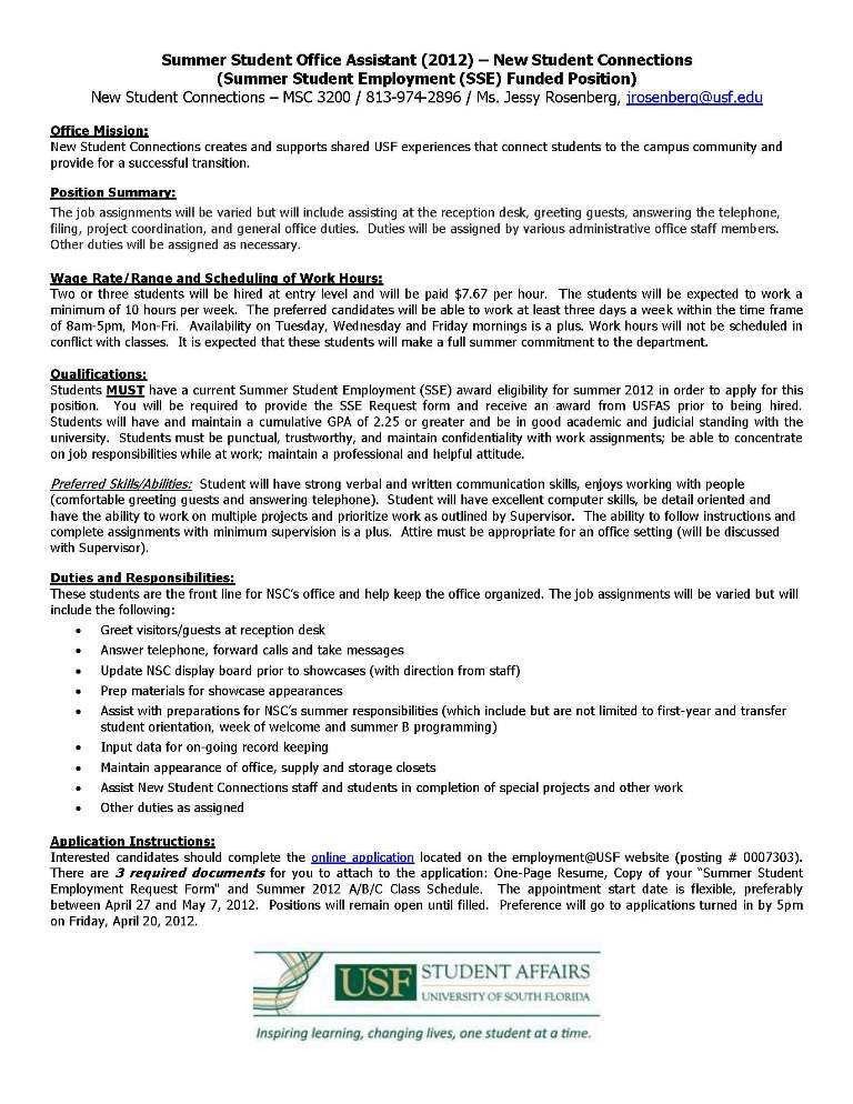 Office Assistant Job Description Resume | RecentResumes.com