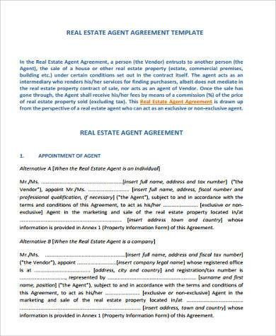 Sample Real Estate Contract Forms - 9+ Free Documents in Word, PDF