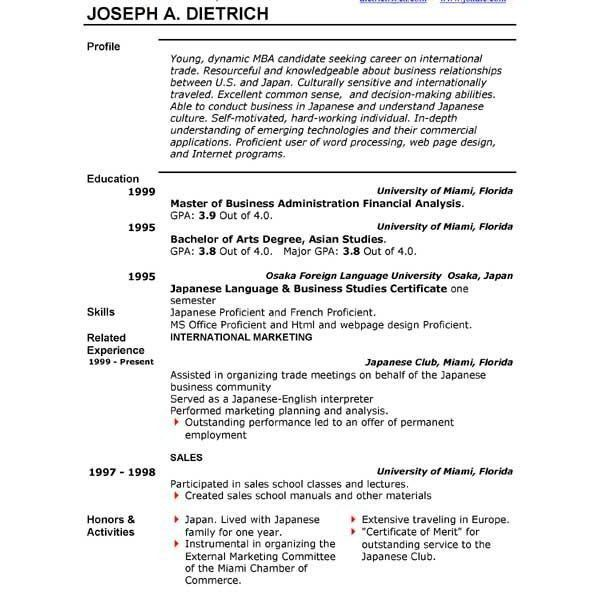 combination resume. free resume templates combination template ...