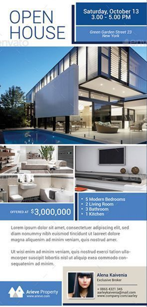 41 best Real Estate Flyers Templates images on Pinterest | Real ...