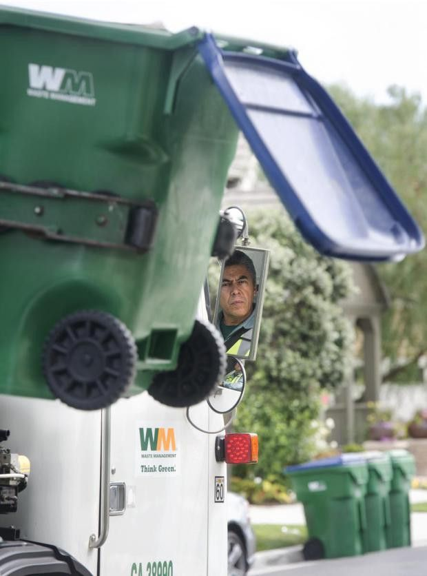 Whiting: Riding along with trash truck 'Driver of the Year' to see ...