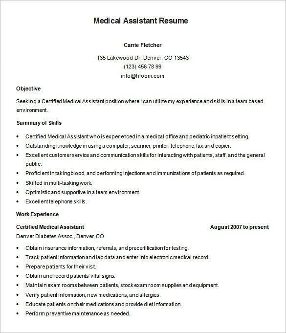 Skills For Medical Resume. 15 Hospital Administrative Assistant ...