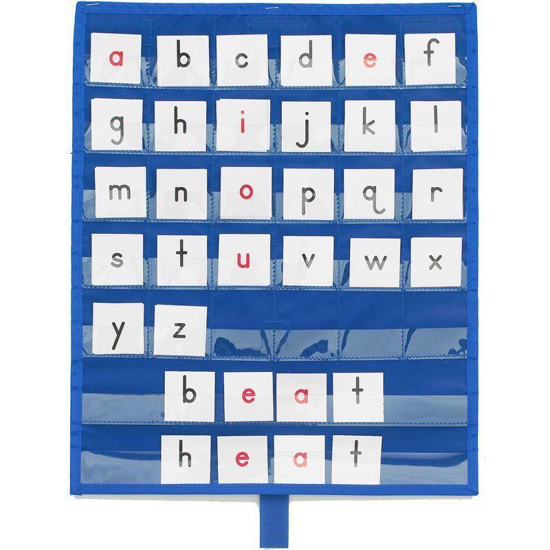 Really Good Stuff Make-A-Word Desktop Pocket Chart™