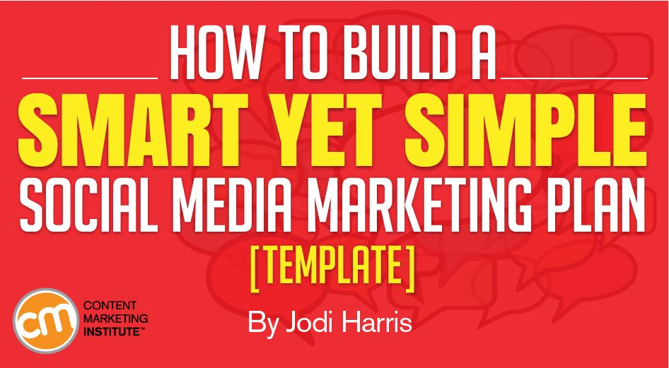 How to Build a Smart Yet Simple Social Media Marketing Plan [Template]