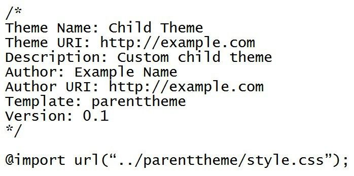 What's A WordPress Child Theme?   Tsohost Blog