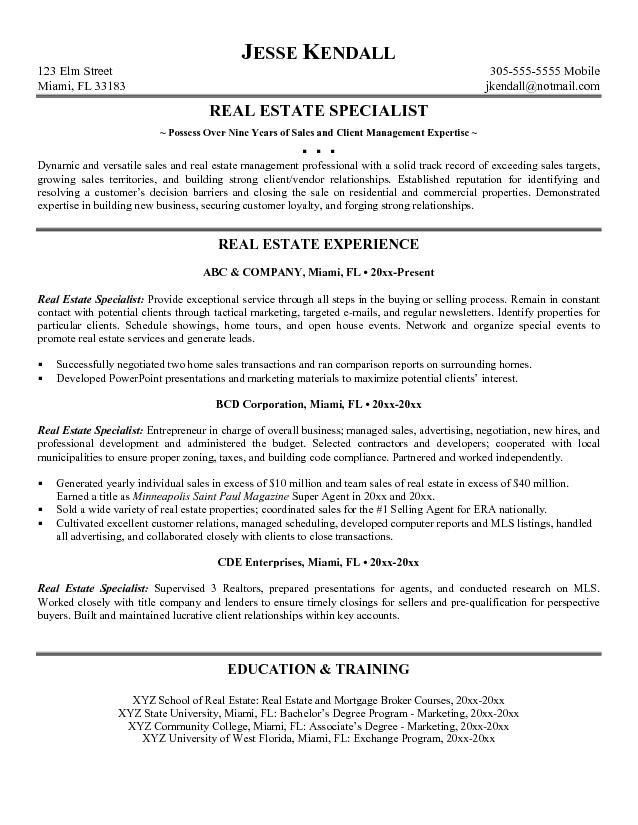 Resume Examples General Objective - Templates