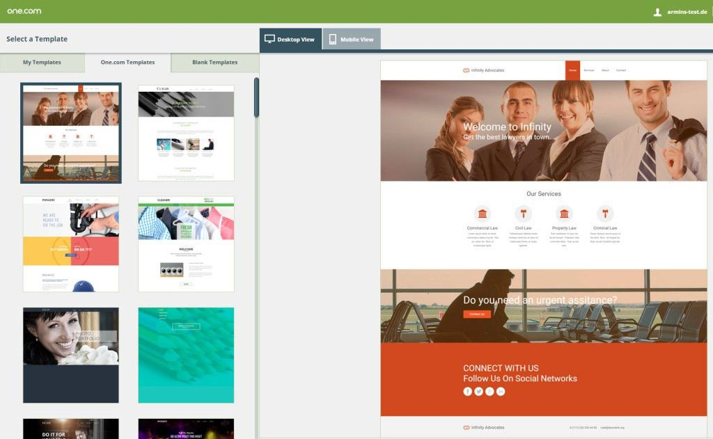One.com Website Builder 2017 Review – The Low Cost Site Builder