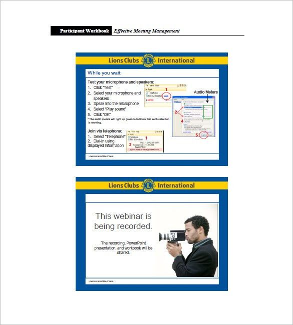 Club Meeting Minutes Template – 11+ Free Word, Excel, PDF Format ...