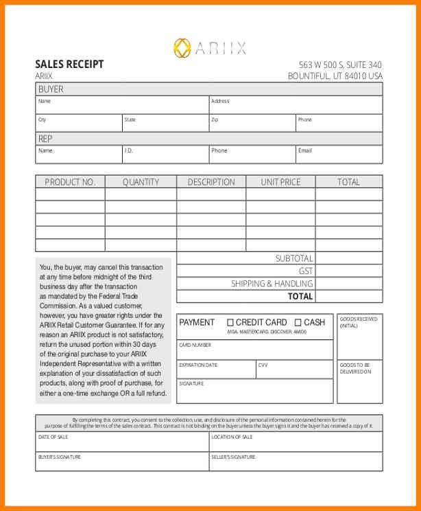 8+ counter receipt form sample | cashier resumes