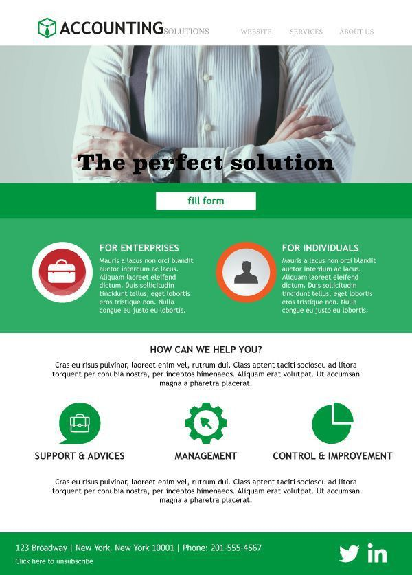 11 best Email Templates For Accountants images on Pinterest ...