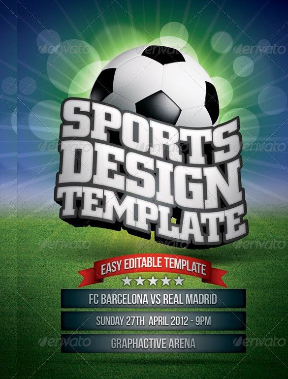 Sports Flyer Template - 31+ Free PSD, AI, Vector EPS Format ...