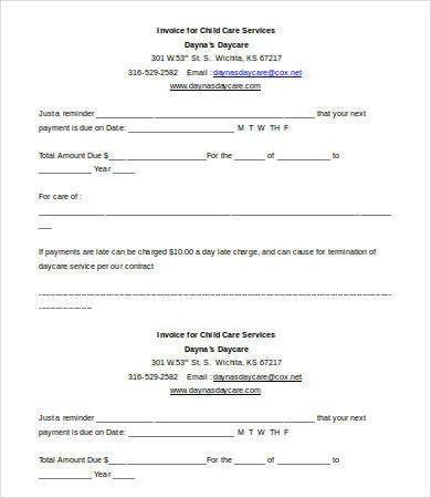 Free Printable Invoice Template - 9+ Free Word, Excel, PDF ...