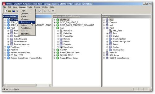 OBIEE 11gR1 : Basic System Administration