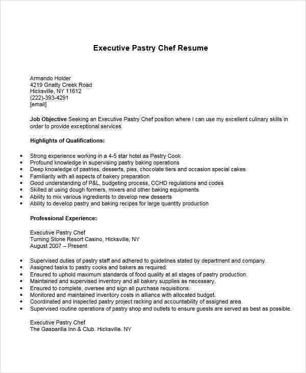 chef resumes chef resume sample writing guide resume genius chef
