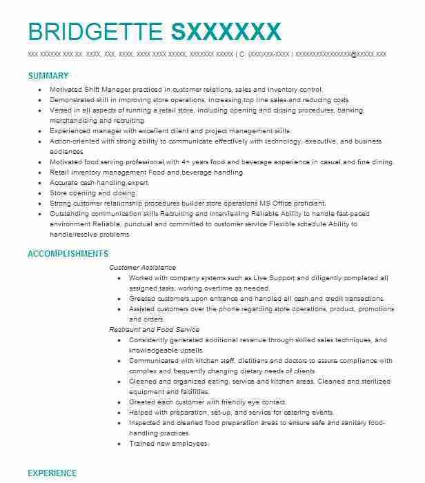 server resumes examples unforgettable server resume examples to