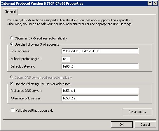 IPv6 deployment: Using IPv6 link-local addresses as default ...