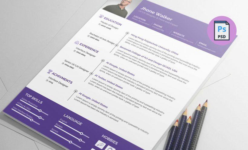 Free Resume Templates Download - Resummme.com
