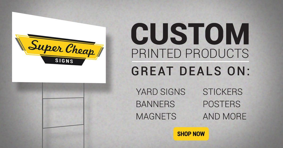 Campaign Signs, Political Signs & Election Signs   Super Cheap Signs