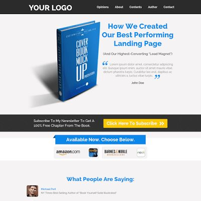 Landing Page Templates by Leadpages