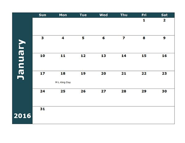2016 Three Monthly Calendar Template - Free Printable Templates