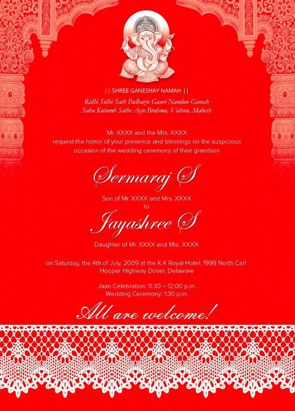 Traditional Wedding Invitations – 17+ PSD, JPG, Format Wedding ...