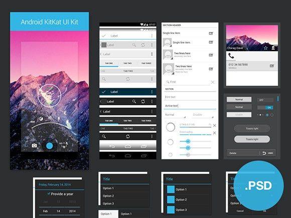 35+ Gorgeous Free App Design Templates
