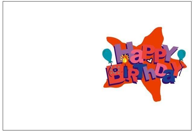 Birthday Card Template - beepmunk