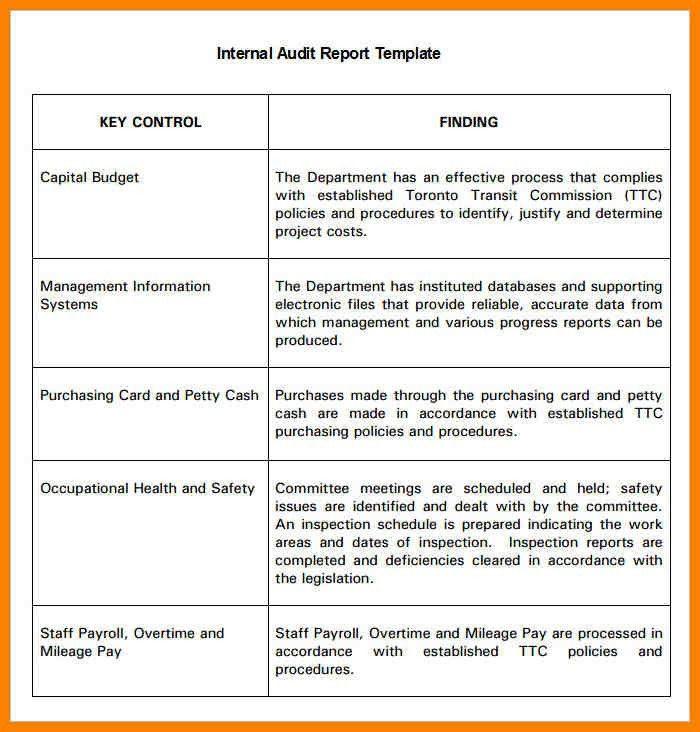 5+ audit report format in word | dialysis-nurse