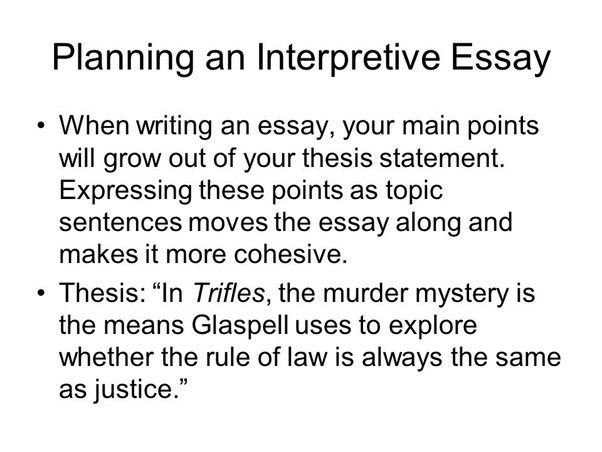 What are some tips for how to write an interpretive essay? - Quora