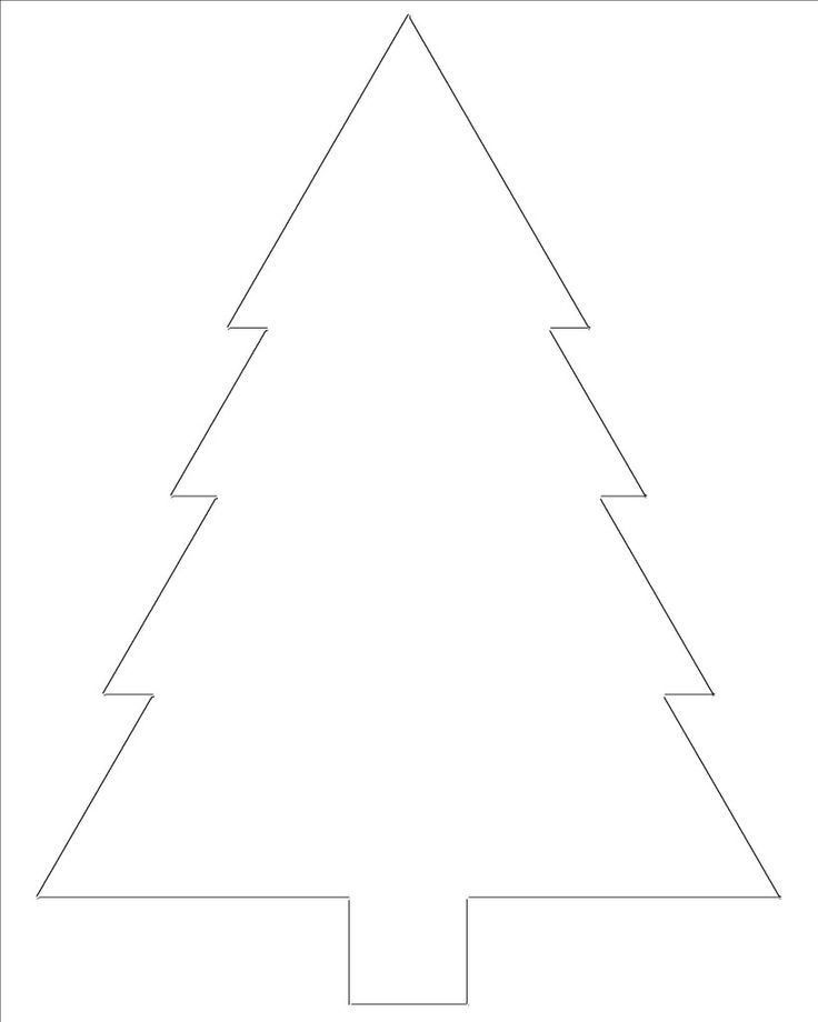 Best 25+ Christmas tree template ideas on Pinterest | Christmas ...