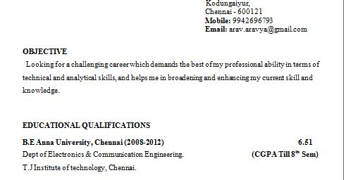 Outstanding Resume Format In Engineering Student 41 For Resume ...
