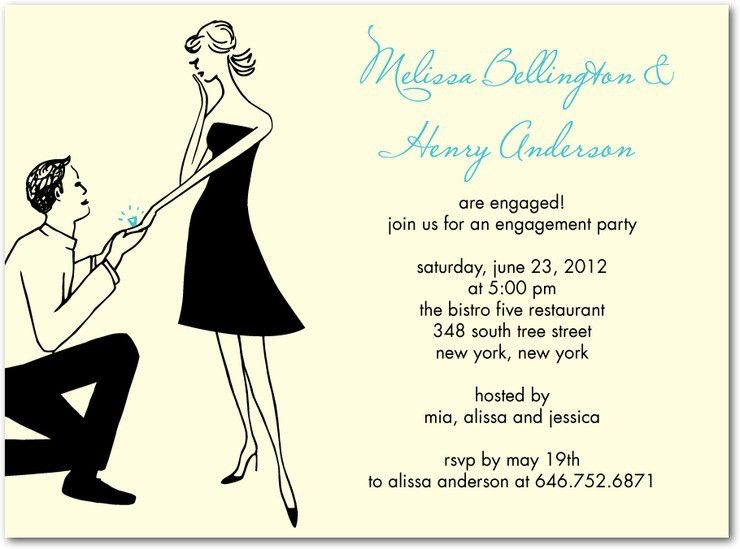Party Invitations: Mesmerizing Engagement Party Invitations ...