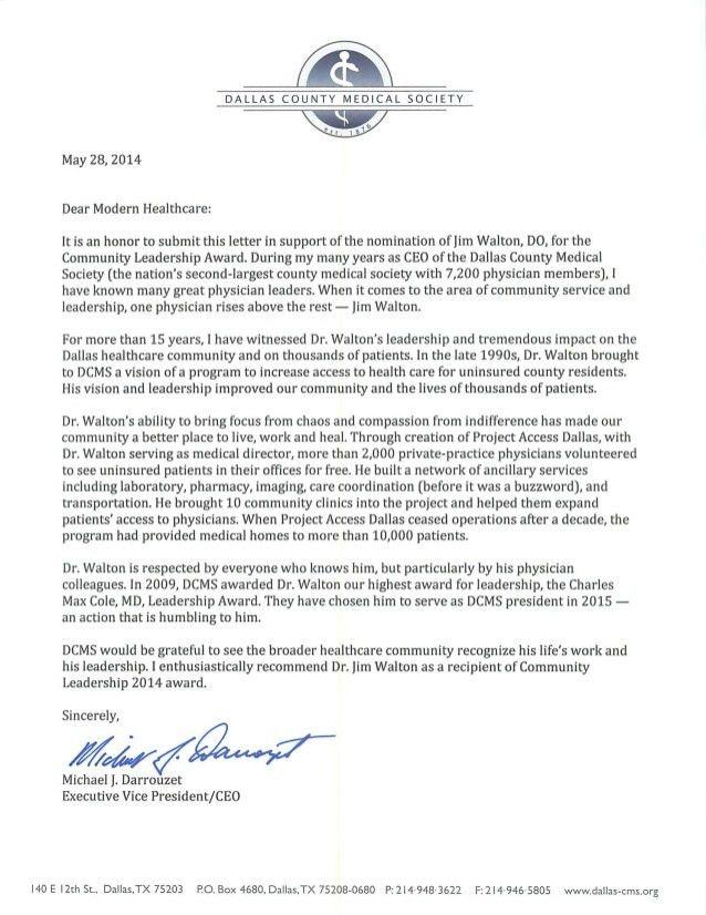 Jim Walton – 2014 nominee for Modern Healthcare's Community Leadershi…