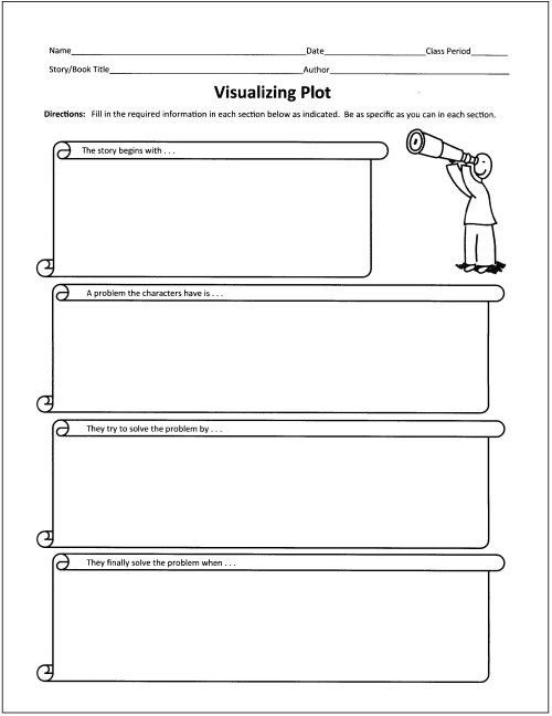 Free Graphic Organizers for Teaching Literature and Reading ...