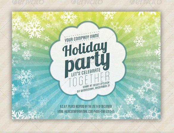 Holiday Invitation Template – 17+ PSD, Vector EPS, AI, PDF Format ...