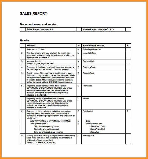 Sales Report Template. Sales Report Excel Template – Top 10 ...