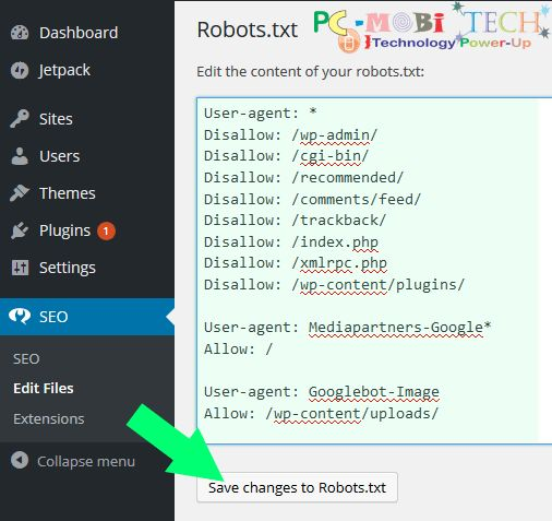 Robots.txt file : how to Create or Edit (Wordpress).